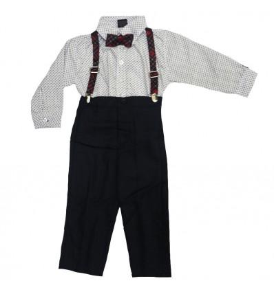 conjunto para niño - pantalon con tirantas
