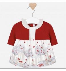 vestido para bebe niña - bambi rojo