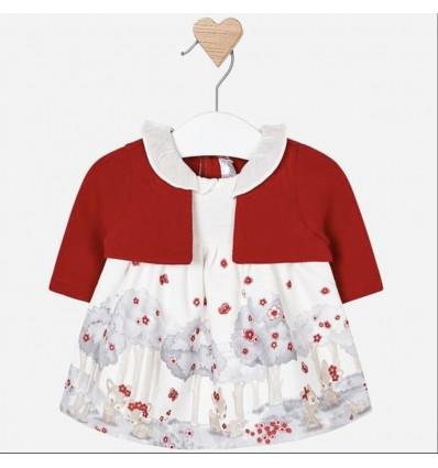 842500da8 vestido para bebe niña - bambi rojo