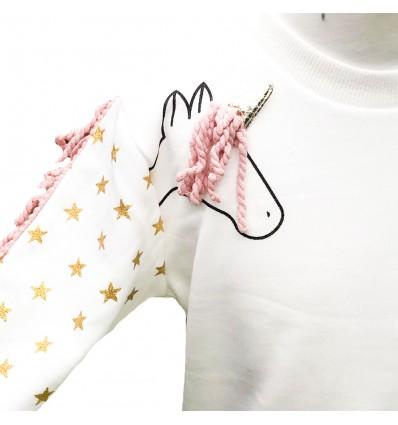 buzo para niña - unicornio