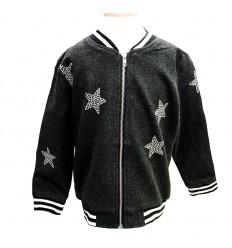 chaqueta para niña - estrellas