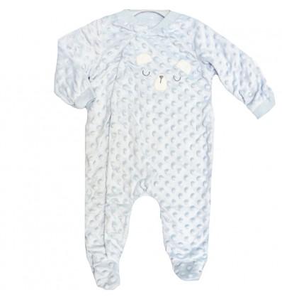 pijamas paera bebe niño - color azul