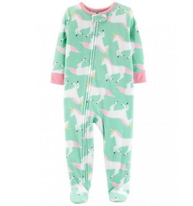 f5892396d4 pijama para bebe niña - unicornio celeste