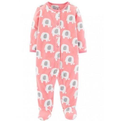 pijama para bebe niña - elefante rosa