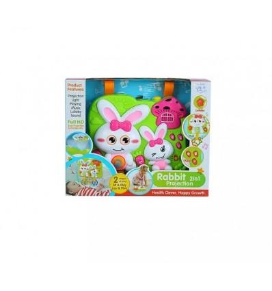 juguete didactico - proyector conejo