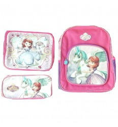 maleta para niña - set princesita sofia pequeña