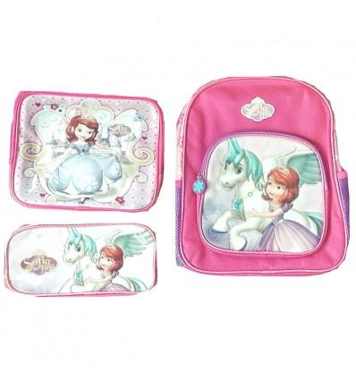 ab6a9d040 maleta para niña - set princesita sofia pequeña