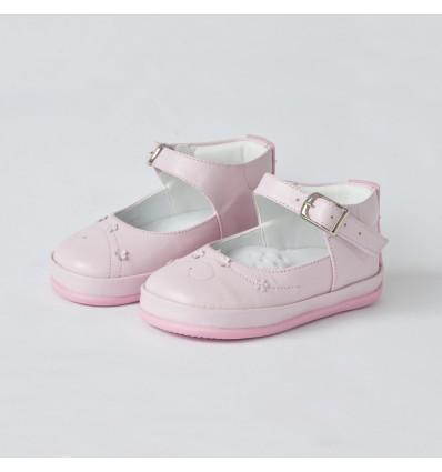 Zapato no tuerce rosado