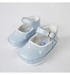 Zapato no tuerce azul cielo