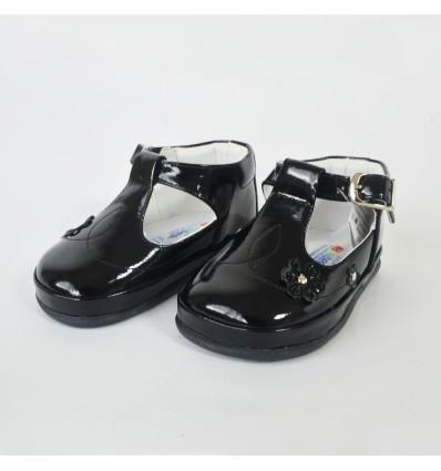 Zapato no tuerce negro