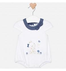 Vestido para niña recién nacida blanco