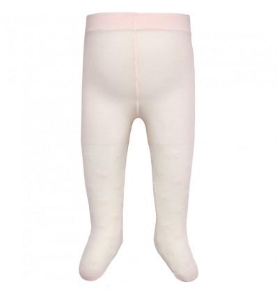 348944a41 Media pantalon rosa para bebé niña