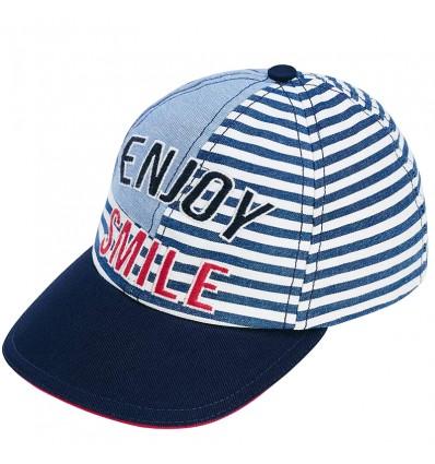 Gorra con bordado para niño