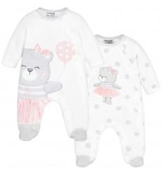 Pijama mayoral rosada
