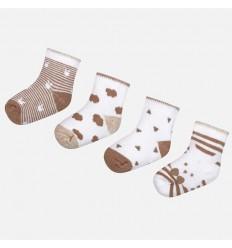 set de medias x bebé recién nacido