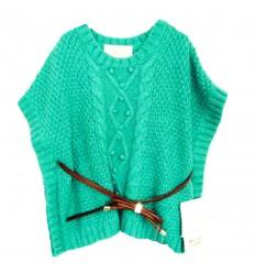 buzo-para-niña-outlet-mayoral-verde-cinturón-café