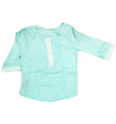 camisa-para-niña-outlet-aguamarina-tres-cuartos