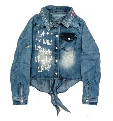 camisa-para-niña-outlet-jean-wild