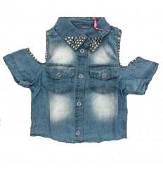 camisa-para-niña-outlet-jean-brillante