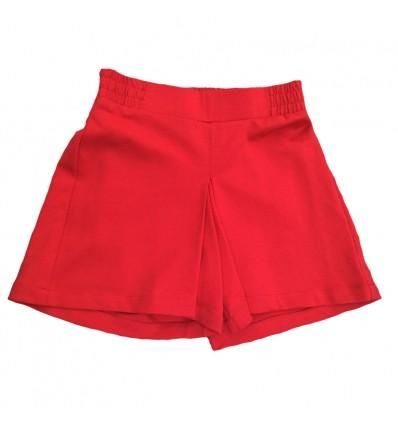 short-para-niña-outlet-rojo