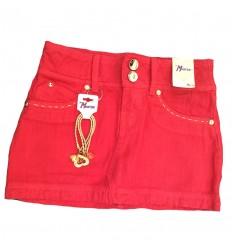 falda-para-niña-outlet-rojo-cereza