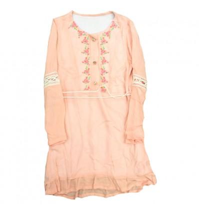 vestido-para-niña-outlet-rosado-hippie