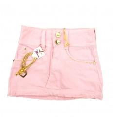 falda-para-niña-outlet-rosa-con-dorado