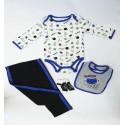 Conjunto de ropa Niño estampado football