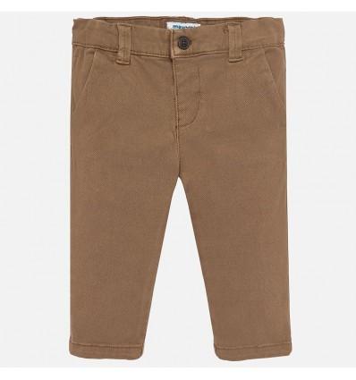 Pantalon para niño color castaño
