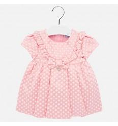 Vestido para bebe niña rosa
