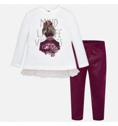 Camisa para niño color nata