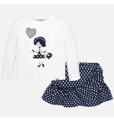 Pantalon de cuadros para niña