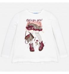 conjunto leggings para niña osita