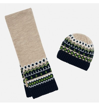 conjunto gorro bufanda para bebe