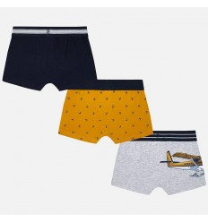 Boxers para niño set x 3