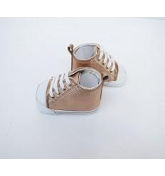 zapatos para bebe niña - cobre