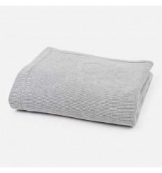 Cobertor para bebe Gris cualdros Elefante