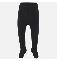 Media pantalon elastica para niña negro