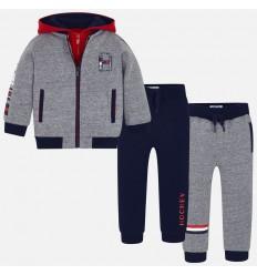 Jean para niño con detalles rojos