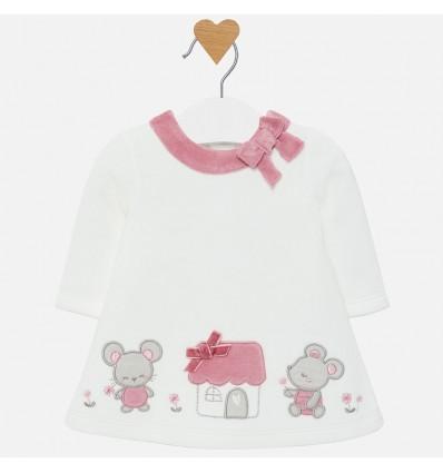 vestido para bebe niña velvetin