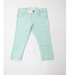 Pantalón verde escarchado