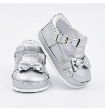 Zapato para niña plata