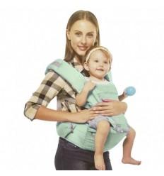 Cargador para bebé con base color gris oscuro