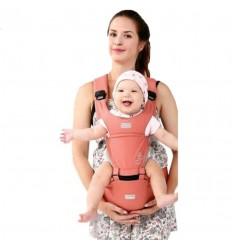 Cargador para bebé estampado ballena rosa