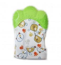 guante llamadientes para bebé guante con oso