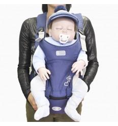 Cargador para bebé gris humo corazón