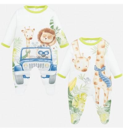 Pijamas x2 selva niño