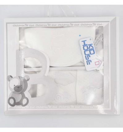 Primera muda bebé- Blanco oso