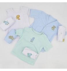 Semanario de Camisas Básico Niño azul