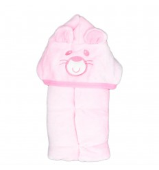 Cobija para bebe con capota de oso-Kid house